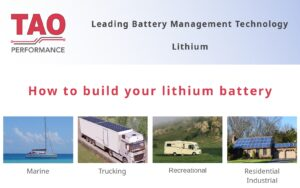 How to build a lithium battery and connect the TAO BMS